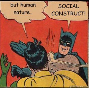 Unanswerable questions: social constructs