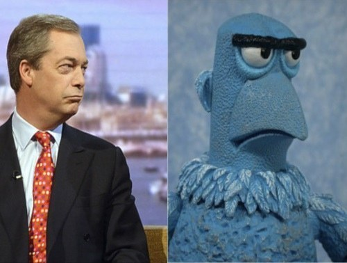 The second candidate: making the world a better place for screw-face muppets